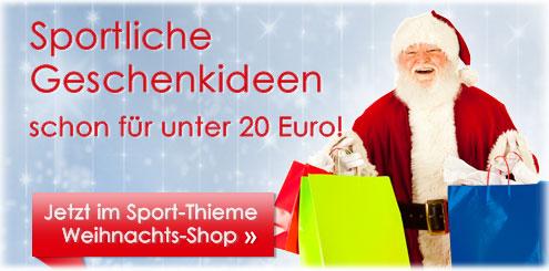 Sportliche Weihnachtsgeschenke von Sport-Thieme jetzt online kaufen