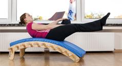Balanceübung/Kräftigung Bauchmuskulatur