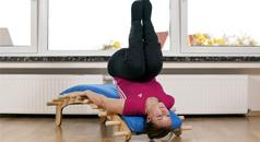 Mobilisation/Massage der Schultermuskulatur